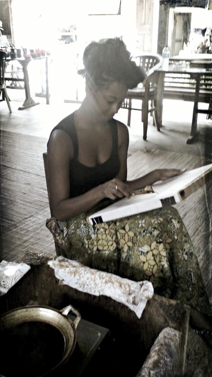 adventureswithbea Bali batik painting