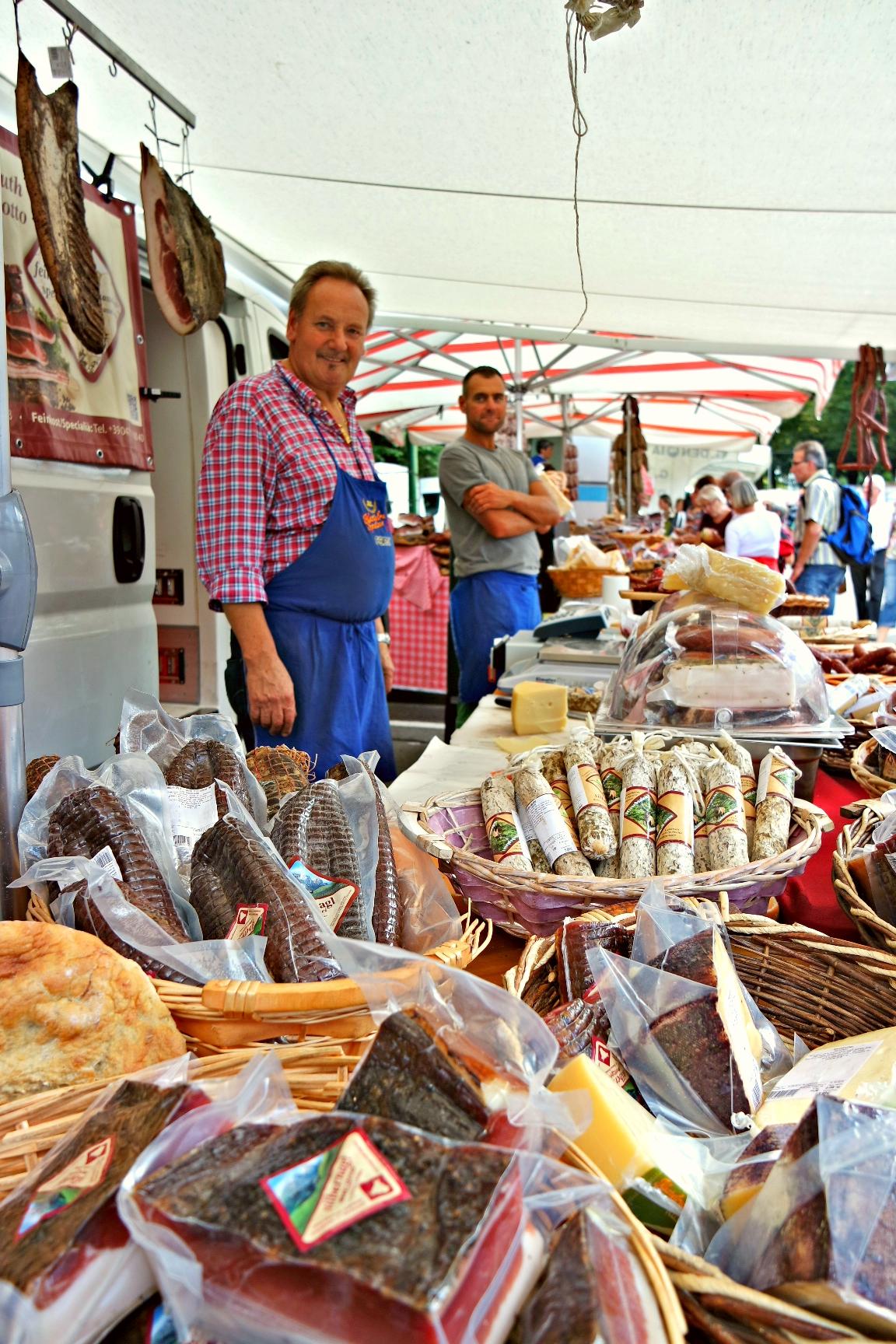 Merano Friday market adventureswithbea