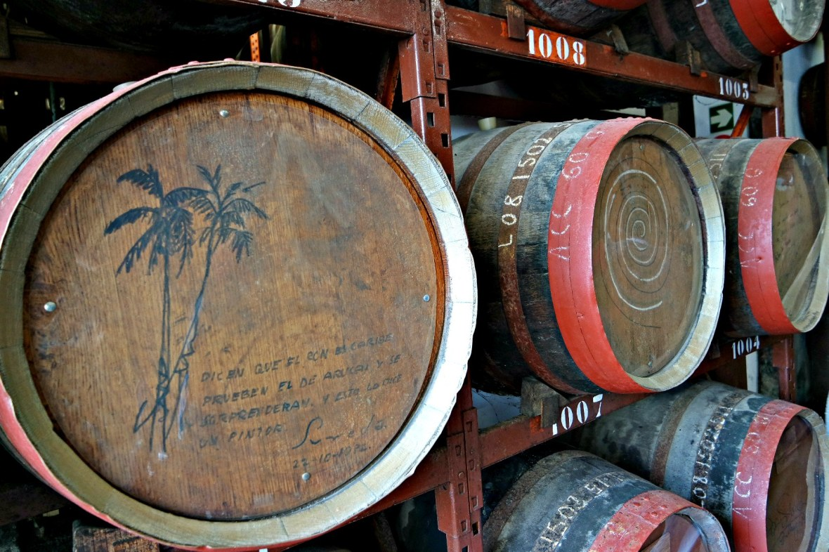 arucas rum barrel