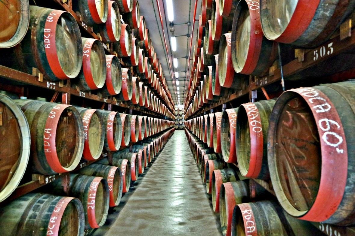 arucas rum barrels
