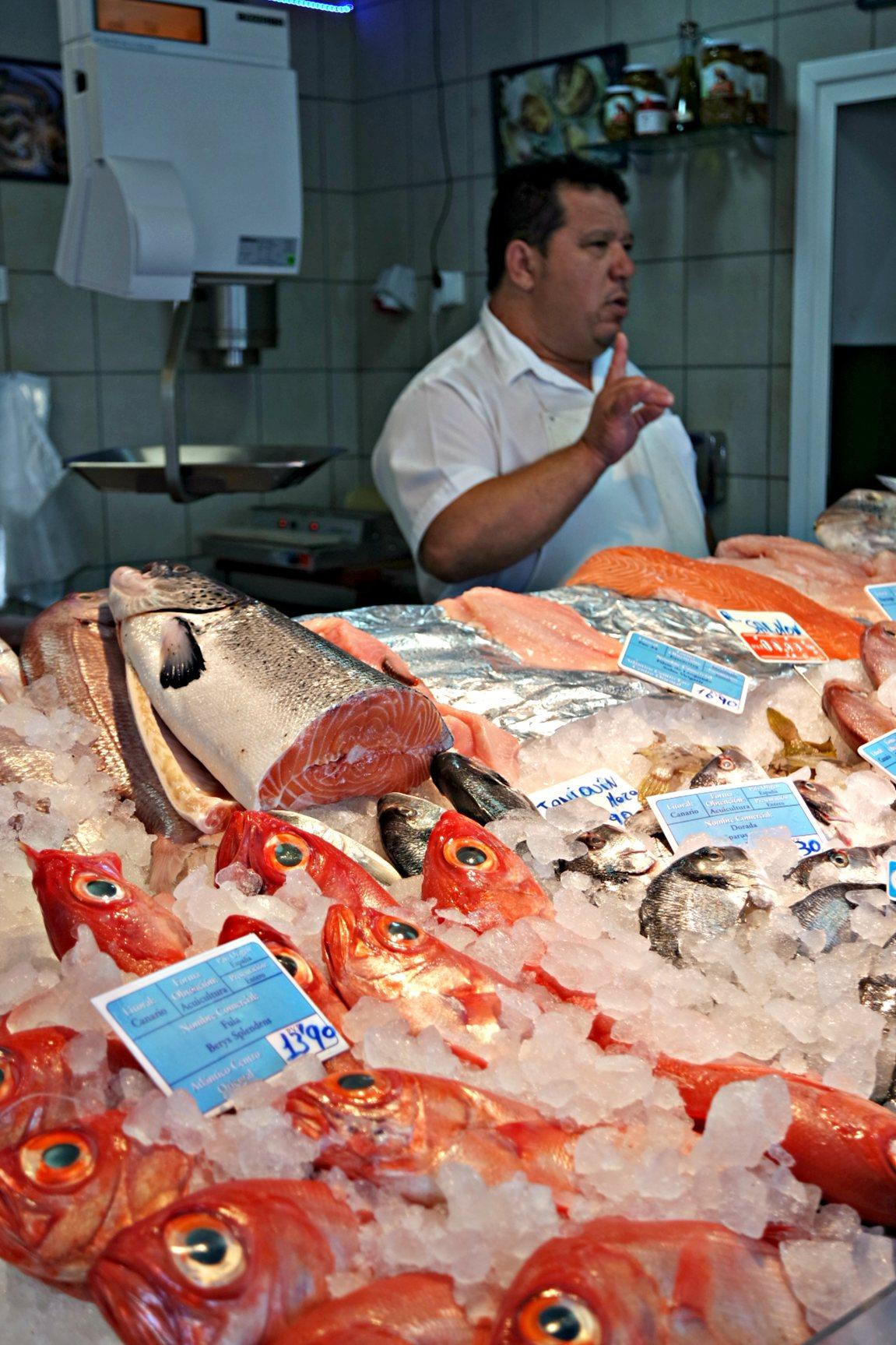 GC fish stall